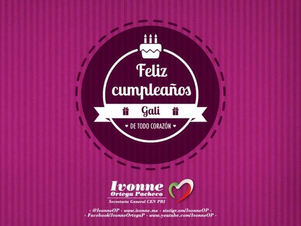 Galilea Montijo On Twitter At Ivonneop Comadritafelicidades Te