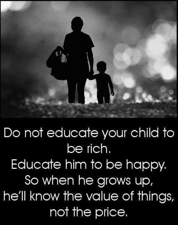 Educar para ser feliz. #Psicología