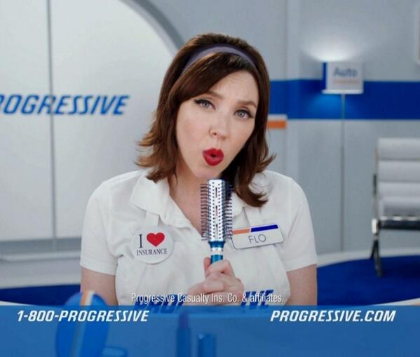 flo from progressive porn video