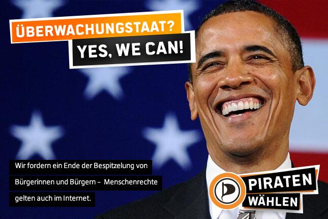 Überwachungsstaat? Yes, we can!
