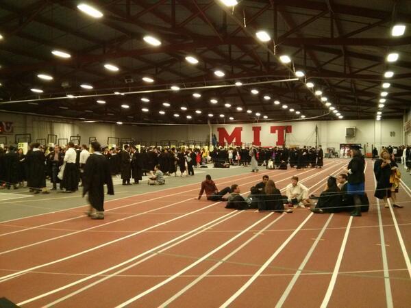 Lining up. #MIT2013 pic.twitter.com/wCzmEsW38x