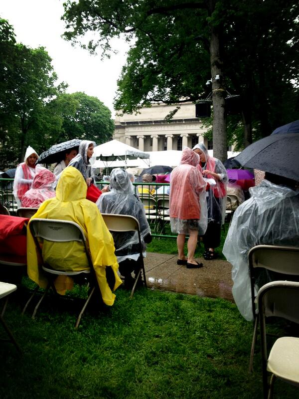 Today Andras graduates from his dream school and we couldn't be happier! #mit2013 #seaofponchos pic.twitter.com/cD9c7K0Tqs