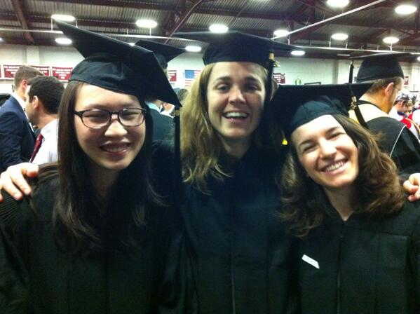 Congratulations @MITGlobalChange Masters students Amanda Giang, Megan Lickley, & Ioanna Karkatsouli! #MIT2013 pic.twitter.com/FwYtxwPFKR