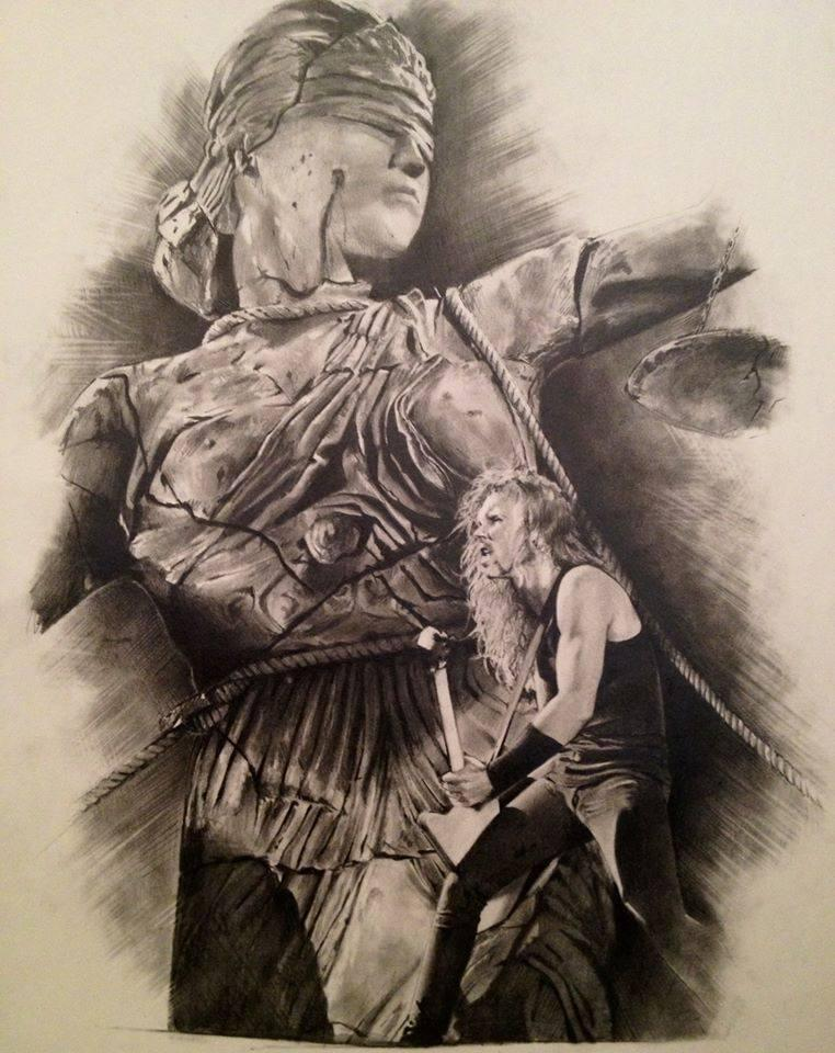 lady justice statue drawing - photo #44