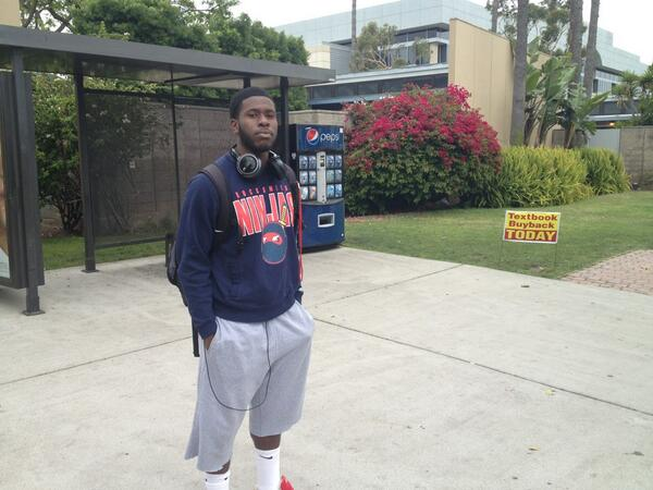 Rashad Johnson was about to enter the library for an exam when he heard shots.  @kpcc http://pic.twitter.com/QwxaAcX9my