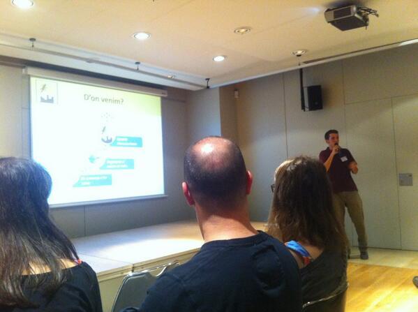 En Jan presenta el projecte de #naturaurbana
