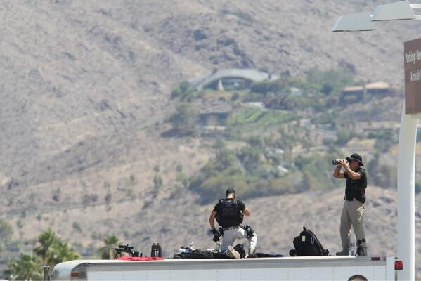 Thumbnail for President Barack Obama, Air Force One land in Palm Springs