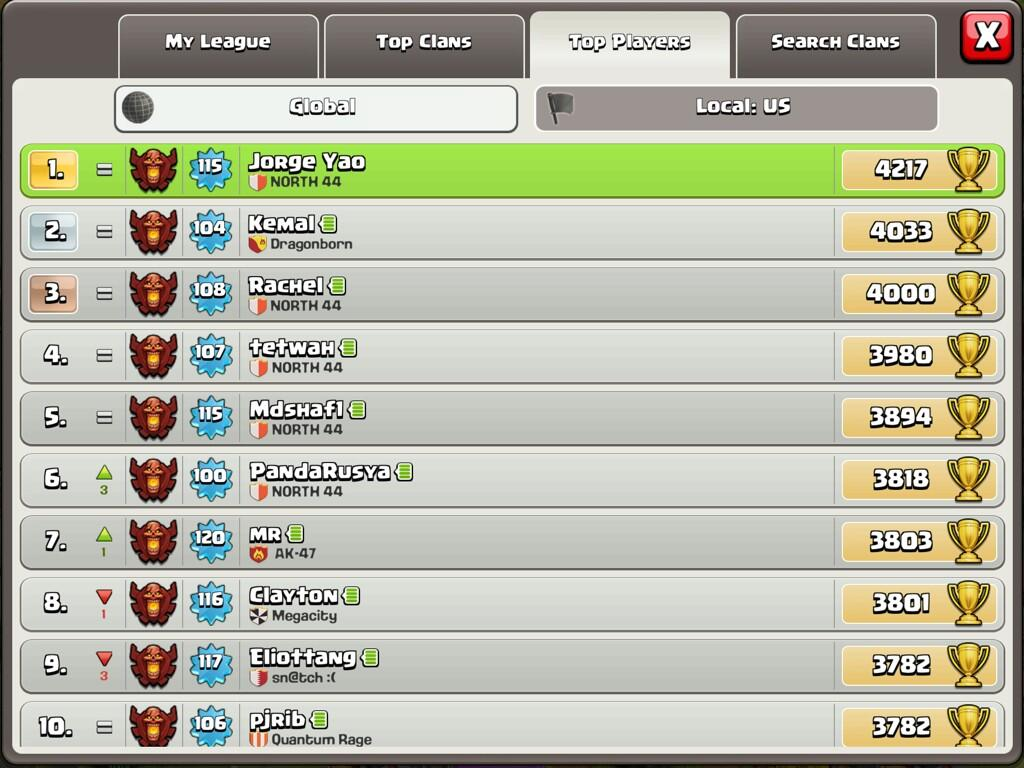 Clash of clans cool clan names apps directories