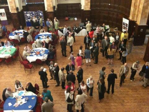 The Great Hall is alive with excited chatter as our alumni get reacquainted #UoBreunion pic.twitter.com/4rAYLlusZa