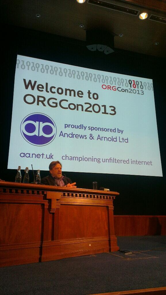 .@jpbarlow delivering an entertaining start to his #orgcon keynote http://pic.twitter.com/g3ztZTPTF7