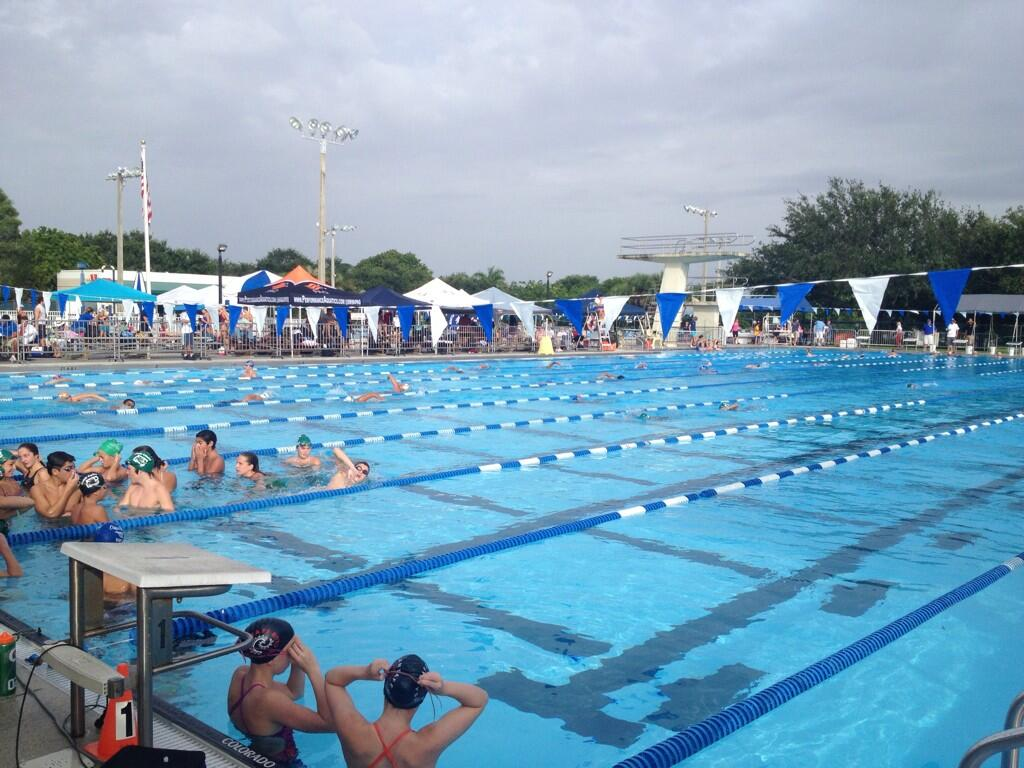 Pst Swimming On Twitter Plantation Aquatic Complex Warm