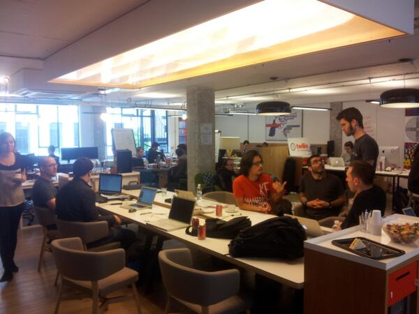 And they are off.....coding developing @AccessHack pic.twitter.com/VNzYvvIFGa