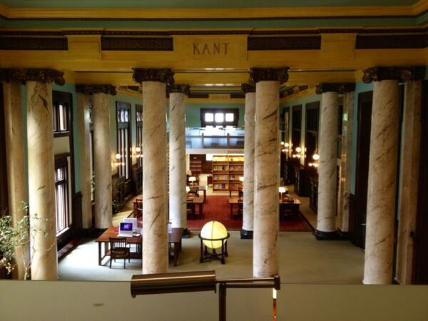 Timken Science Library: top two buildings on all of #Wooster campus. #KnowledgeBomb #WoosterAW pic.twitter.com/c4UYJtyUTX
