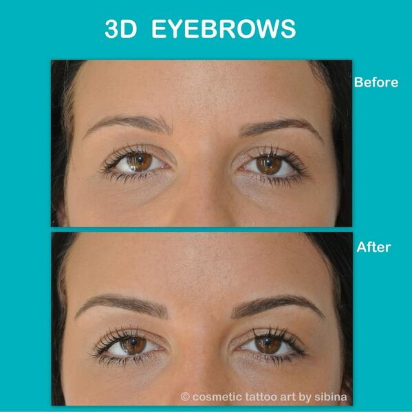 Sibina On Twitter Fabulous 3d Brows Hair Stroke Feather Touch