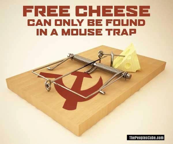 On ne trouve de fromage gratuit que sur un piège à souris