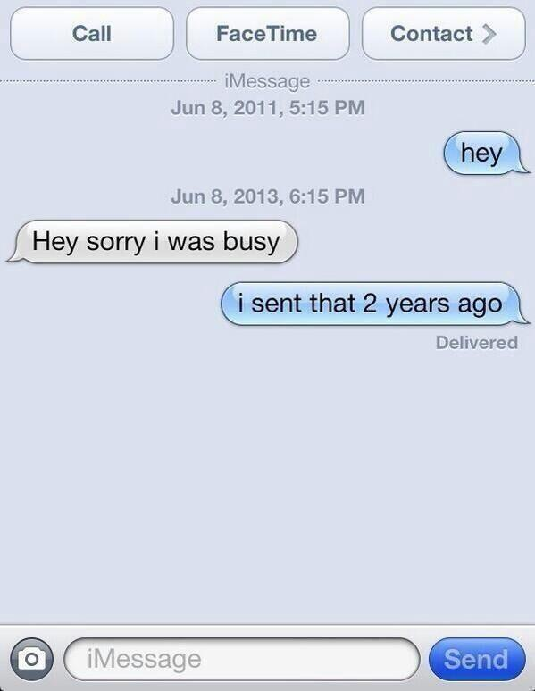 how to start a conversation over text yahoo