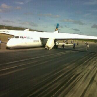 Photo of merpati MA60 crash in Kupang!! pic.twitter.com/3tm6Y1t7oI