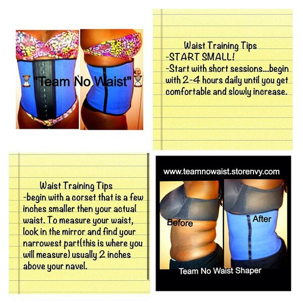 Waist training tips for best results