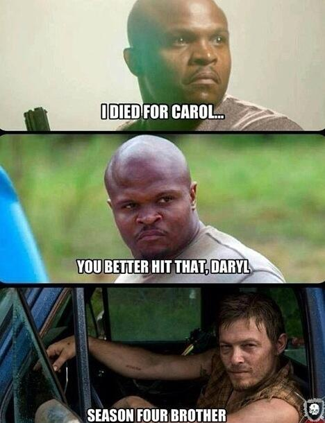Daryl Carol The Walking Dead