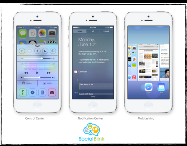 In lobe with the control center..all new features are perfect !! Have a look #apple #ios7 #wwdc13