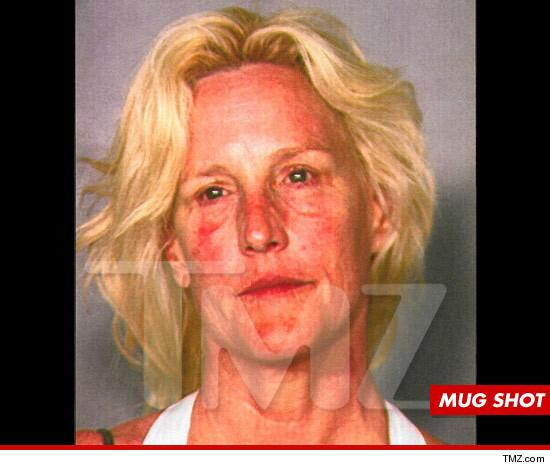 Erin Brockovich -- The Mug Shot ... And Its ROUGH PHOTO
