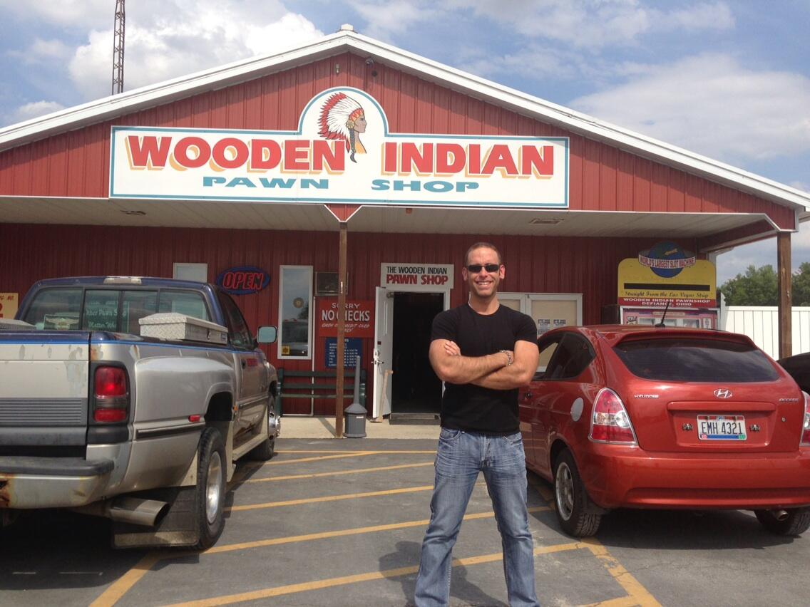 Seth Gold On Twitter At The Wooden Indian Pawnshop Great Store