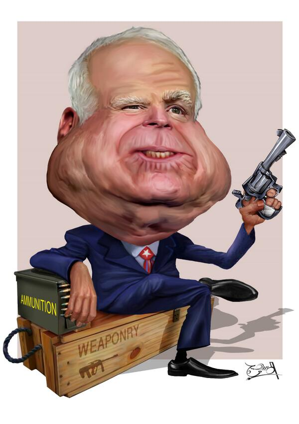 Image result for john mccain cartoon