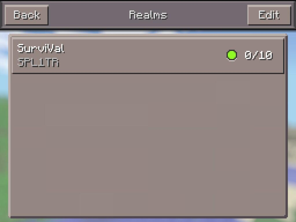 how to connect a server in minecraft pe