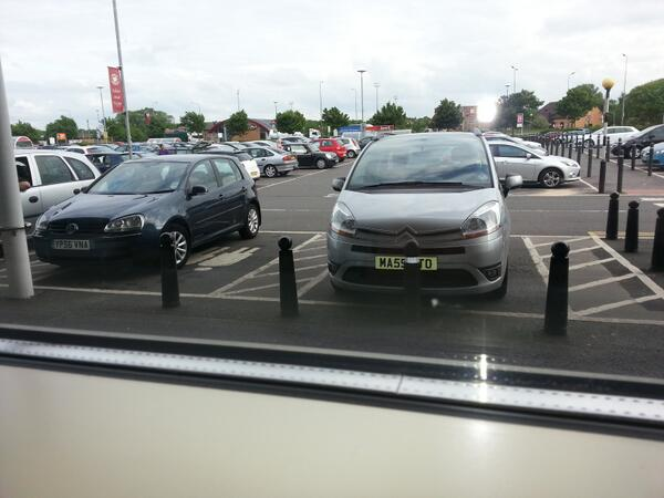 YP56 VNA displaying Selfish Parking