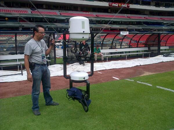 Spidercam de Televisa