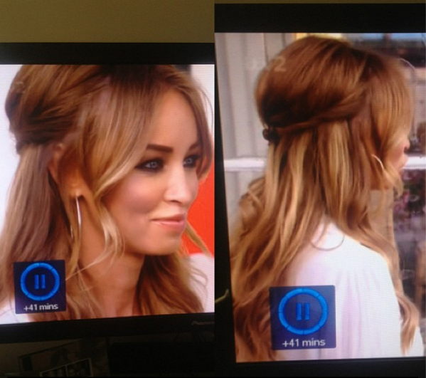 Hair Rehab London On Twitter Check Laurenpope Wearing Her Clipins