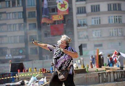 Imágenes de la revuelta de Estambul