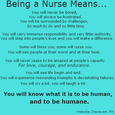 what nursing means to me
