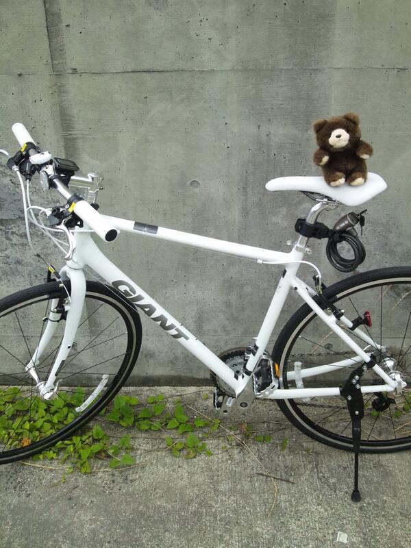 【ぷよぷよマスターへの道:1021日目】GiantのEscape AIRを手に入れた!今までママチャリしか乗ったこと無かったので、走りの軽さと速さに驚愕した。これで週末ブラブラとサイクリング出来るね!ものすごい楽しいのでみんなも買え! http://t.co/piqdfzOVLs