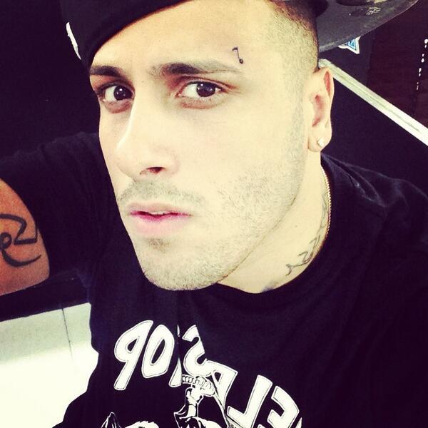 nicky jam on twitter mi nuevo tattoo