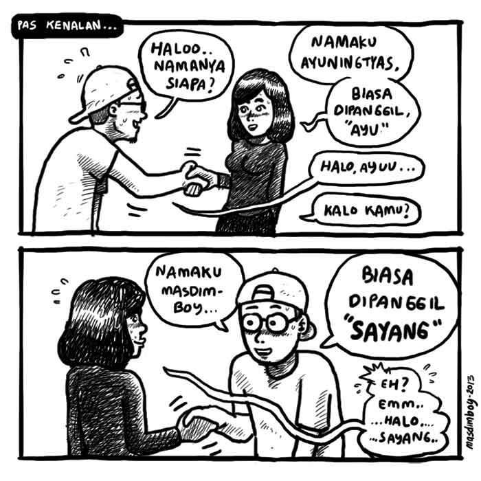 Adhiyta On Twitter Quot Sweet Masdimboy Komikstrip Waktu