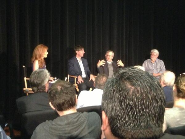 All art is dependent on technology. George Lucas at #usc pic.twitter.com/MjV2eEwk3t