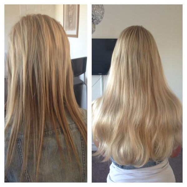 Sjs Hair Extensions On Twitter Before And After Full Head