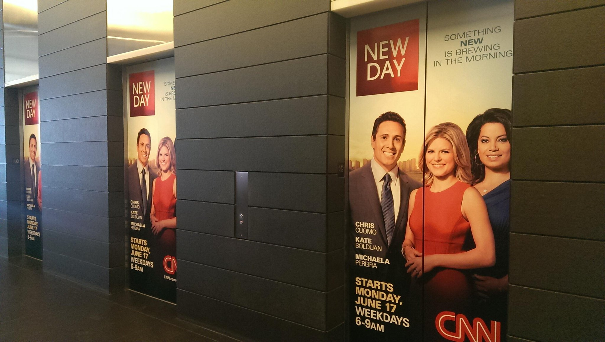 Twitter / ChrisCuomo: The elevators at the Time Warner ...