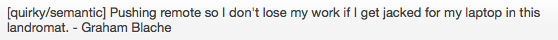 Best commit message of all time. No contest cc @gblache @nathansmith22 @stevenwalker http://t.co/DrlDhs5THi