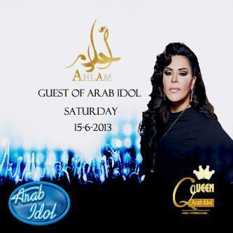 AHLAM #LIVE in #Arabidol Saturday 15.6.2013 9:00 p.m pic.twitter.com/J0gWxlcpGq