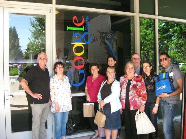 #STACCE13 group visits @google pic.twitter.com/IWiwlLHUUD