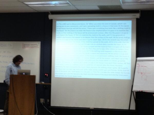 Is this too much text on my slide #indoorevol pic.twitter.com/FWH2aRZmoN