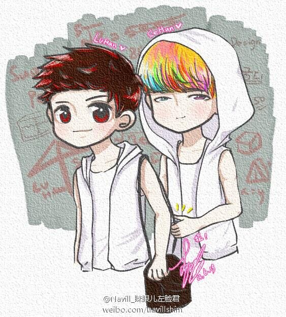 FANART  For fiction  Baby luluHunhan Fanart Wolf