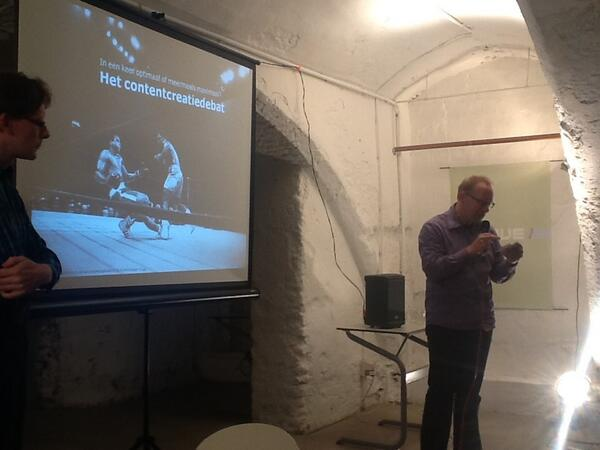 """#contentcafe uw scheidsrechter Jan Peter Bogers quote """"nuance komt pas over een uurtje"""" http://pic.twitter.com/dOcFDYZDSX"""