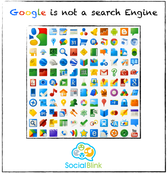With 187 products, #Google is not a search engine !! #fact #egypt #apple #IOS