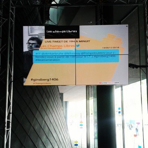 Thumbnail for Live-tweet du 14-06-2013 : soirée inaugurale Beat Generation/Allen Ginsberg