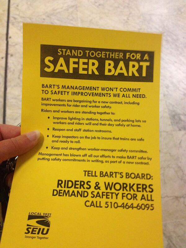 Thumbnail for Reaction: @SFBART @rideact give 72-hour strike notice