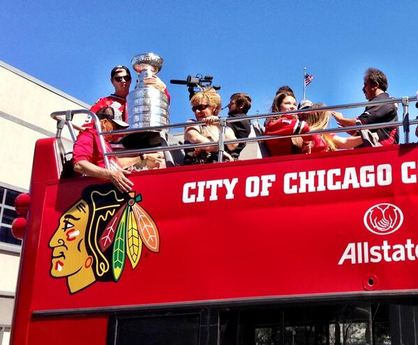 Thumbnail for Chicago Blackhawks 2013 Stanley Cup Championship Parade and Rally
