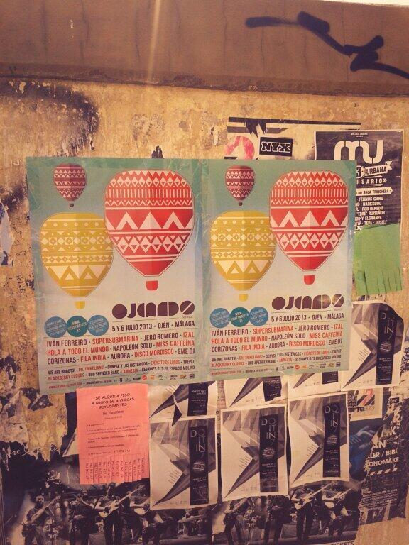 Ver carteles del 'ojeando' y no evitar acordarme de @hintercalada http://t.co/svt64E2IiD